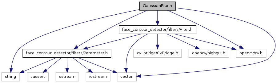 face_contour_detector: GaussianBlur h File Reference